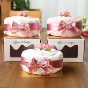 케익타올 트리플쉬폰 핑크