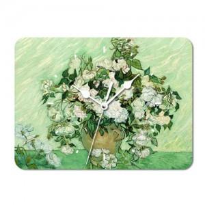 고흐 장미와 꽃병 1890(시계)