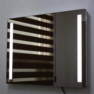 인스미러(LED조명거울) GCI8060W4-R / 800*800 스위치 3단, LED 4구