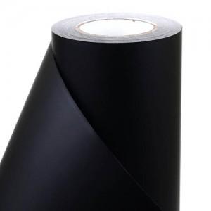 단색시트지 무광블랙/검정 1800 (길이50M)롤단위