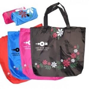 꽃 지갑형 시장가방