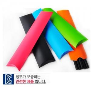 고급 흑목 원형 미두 연필 종이케이스 5p
