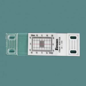 간이 크랙진행측정기(일자형:SC-100) / 10개-1묶음 / 인쇄가능