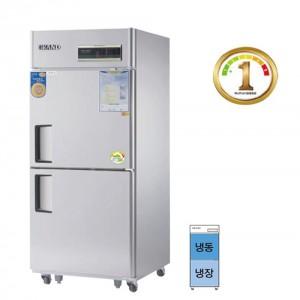 그랜드우성/에너지1등급 30박스 직냉식WSMD-740RFE / ½냉동,냉장