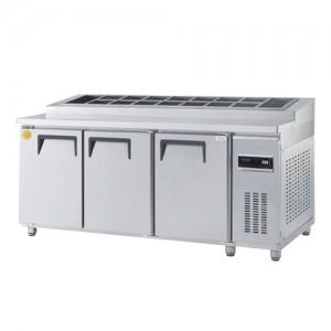 그랜드우성/고급형 직냉식 토핑테이블 6자 GWM-180RTT / 올냉장