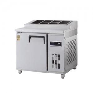 그랜드우성/고급형 간냉식 토핑테이블 3자 GWFM-180RTT / 올냉장