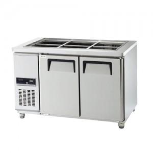 그랜드우성/고급형 간냉식 찬밧드테이블 4자 GWFM-120RBT / 올냉장