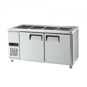 그랜드우성/고급형 간냉식 찬밧드테이블 5자 GWFM-150RBT / 올냉장