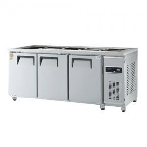 그랜드우성/고급형 간냉식 찬밧드테이블 6자 GWFM-180RBT / 올냉장