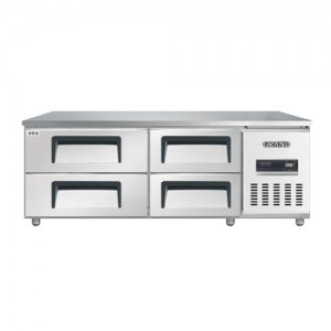 그랜드우성/고급형 간냉식 낮은서랍식냉장고 5자(폭700) GWFM-150LDT / 올냉장