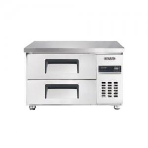 그랜드우성/고급형 간냉식 낮은서랍식냉장고 3자(폭800) GWFM-090LDT / 올냉장