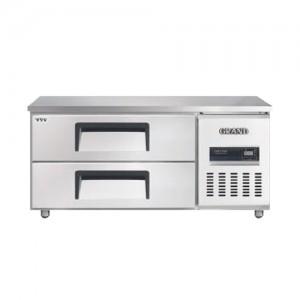 그랜드우성/고급형 간냉식 낮은서랍식냉장고 4자(폭800) GWFM-120LDT / 올냉장