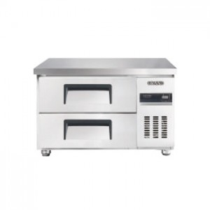 그랜드우성/고급형 직냉식 낮은서랍식냉장고 3자 CWSM-090LDT / 올냉장
