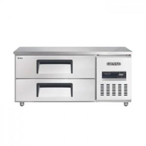 그랜드우성/고급형 직냉식 낮은서랍식냉장고 4자 CWSM-120LDT / 올냉장