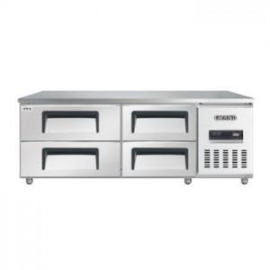 그랜드우성/고급형 직냉식 낮은서랍식냉장고 5자 CWSM-150LDT / 올냉장
