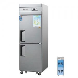 그랜드우성/일반형 직냉식 냉장고 25박스 CWS-632RF 아날로그/½냉동,냉장