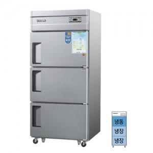 그랜드우성/일반형 직냉식 냉장고 30박스 CWS-832RF 아날로그/3도어