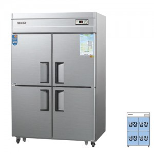 그랜드우성/일반형 직냉식 냉장고 45박스 CWS-1244DR 아날로그 / 올냉장