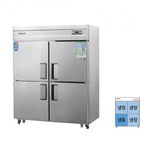 그랜드우성/일반형 직냉식 냉장고 55박스 CWS-1543RF-1 아날로그 올스텐 / ¼냉동,냉장