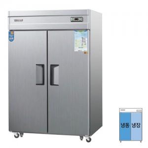 그랜드우성/일반형 직냉식 냉장고 55박스 CWS-1543HRF 아날로그 올스텐 / 수직냉동,냉장