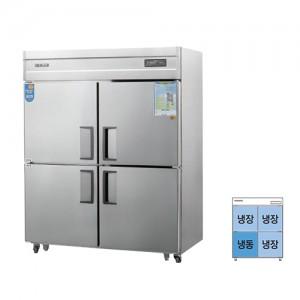 그랜드우성/일반형 직냉식 냉장고 55박스 CWSM-1543RF-1 디지털 올스텐 / ¼냉동,냉장