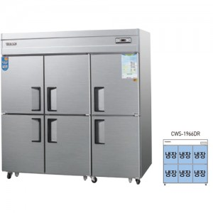 그랜드우성/일반형 직냉식 냉장고 65박스 CWS-1966DR 아날로그 / 올냉장
