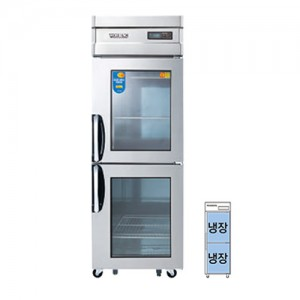 그랜드우성/일반형 직냉식 정육숙성고 25박스 CWSRM-630 / 디지털 / 올스텐(2도어)
