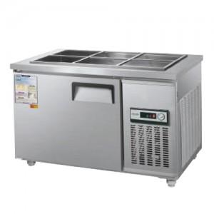그랜드우성/일반형 찬밧드냉장고 4자 냉장 CWS-120RB / 아날로그