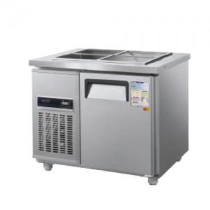 그랜드우성/일반형 찬밧드냉장고 3자 냉장 CWSM-090RB / 디지털