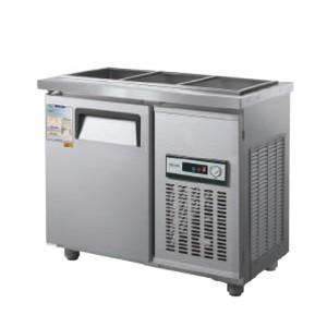 그랜드우성/일반형 찬밧드냉장고 3자 냉장 CWS-090RB(D5) / 아날로그