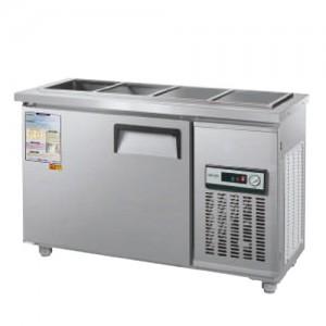 그랜드우성/일반형 찬밧드냉장고 4자 냉장 CWS-120RB(D5) / 아날로그