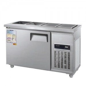 그랜드우성/일반형 찬밧드냉장고 4자 냉장 CWSM-120RB(D5) / 디지털