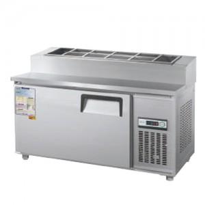 그랜드우성/일반형 토핑테이블 4자 냉장 CWS-120RBT(15) / 아날로그