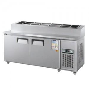 그랜드우성/일반형 토핑테이블 5자 냉장 CWS-150RBT(15) / 아날로그
