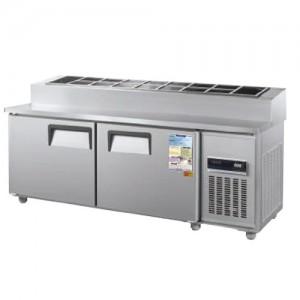 그랜드우성/일반형 토핑테이블 6자 냉장 CWSM-180RBT(15) / 디지털