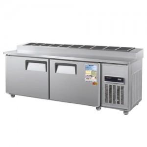 그랜드우성/일반형 김밥테이블 6자 냉장 CWSM-180RBT(10) / 디지털
