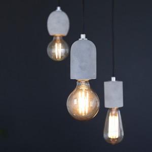 [LED] 코나 3등 펜던트 - 에디슨