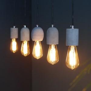 [LED] 코나 5등 펜던트 - 에디슨