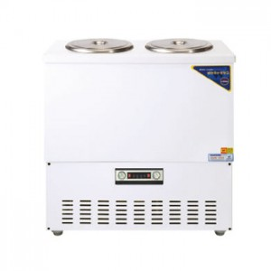 그랜드우성/육수냉장고 2말쌍통2라인/칼라(흰색)/아날로그 CWSR-212
