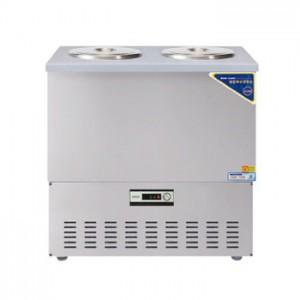 그랜드우성/육수냉장고 2말쌍통1라인/올스텐/아날로그 CWSR-202