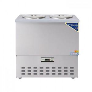 그랜드우성/육수냉장고 3말쌍통1라인/올스텐/아날로그 CWSR-303