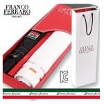 프랑코페라로 2단 엠보 자동우산+컬러블럭 타월세트