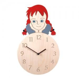 Anne Clock 무소음 자작나무 핸드메이드 벽시계