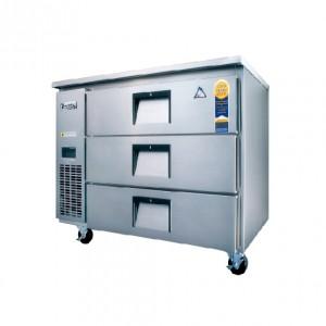 부성/ 높은서랍테이블 / B090CS-3ROOS-E / 간냉식 / 올냉장