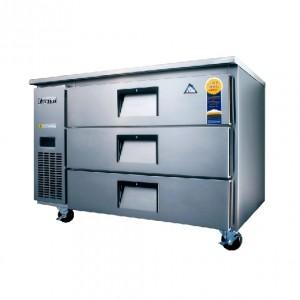 부성/ 높은서랍테이블 / B120CS-3ROOS-E / 간냉식 / 올냉장