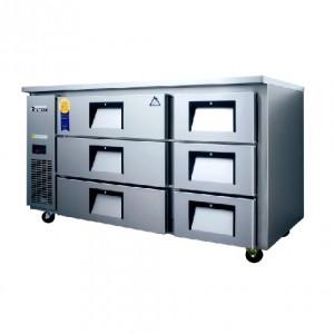 부성/ 높은서랍테이블 / B150CS-6RROS-E / 간냉식 / 올냉장