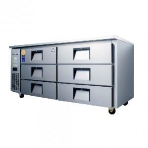 부성/ 높은서랍테이블 / B180CS-6RROS-E / 간냉식 / 올냉장