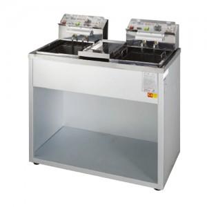 그랜드우성/전기튀김기 2구(분체)6KW WS-EFS20