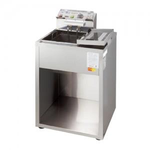 그랜드우성/전기튀김기 1구(스텐)3KW WS-EFS10S