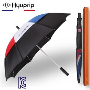협립 65 태극컬러 이중방풍 수동 골프우산